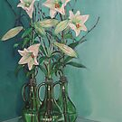 White Liliums by Thanh Duong