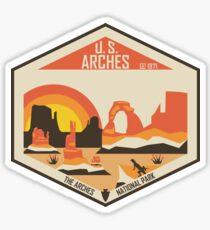 Pegatina Parque Nacional Arches
