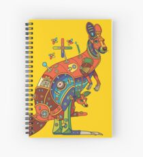 Kangaroo, from the AlphaPod collection Spiral Notebook
