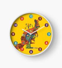 Kangaroo, from the AlphaPod collection Clock