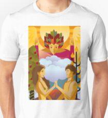 the lovers tarot card T-Shirt