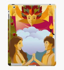 the lovers tarot card iPad Case/Skin
