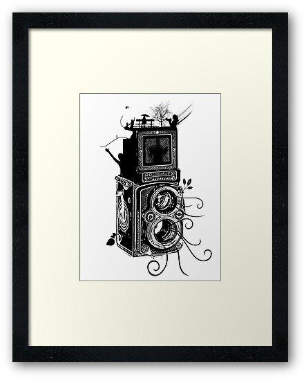 Retro Rolleiflex - Evolution of Photography - Vintage by Denis Marsili