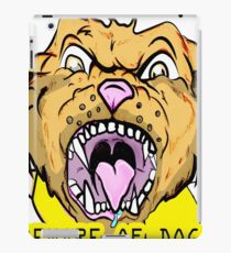 Beware of Dog iPad Case/Skin