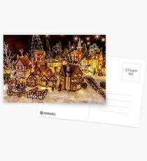 A Very Merry Christmas Postcards