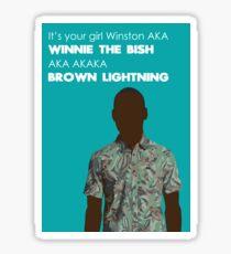 Winston Bishop Sticker