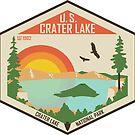 Crater Lake Nationalpark von moosewop