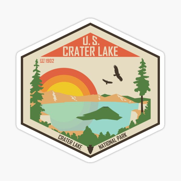 Crater Lake National Park Sticker