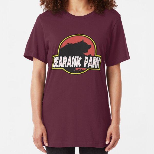 Bearassic Park Slim Fit T-Shirt