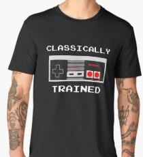 Classically Trained - Nintendo Games Gamer Video Games Nerd Geek Play Station Men's Premium T-Shirt