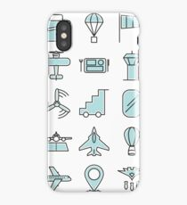 Aviations Icons Planes and Aircraft iPhone Case/Skin