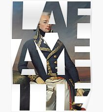 Hamilton: Lafayette Poster