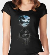 Cycle of Light Women's Fitted Scoop T-Shirt