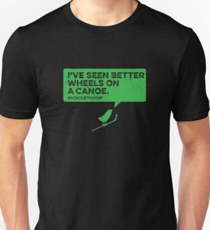 Canoe Wheels Hockey Chirp T-Shirt
