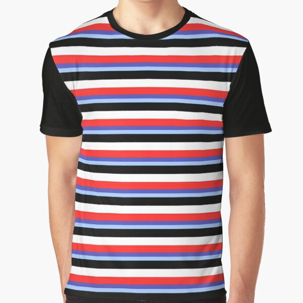 Jeremy Heere - Be More Chill stripes Graphic T-Shirt