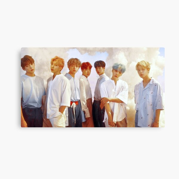 bts her love yourself poster edited Canvas Print