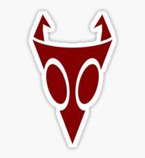 Irken Military Symbol [Red] Sticker