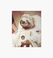 Astronaut Sloth  Art Board