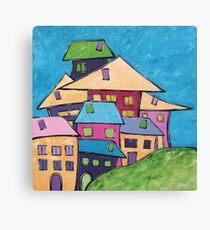 Close Knit Community Canvas Print