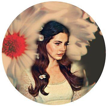 Blume Lana II von retr0babe