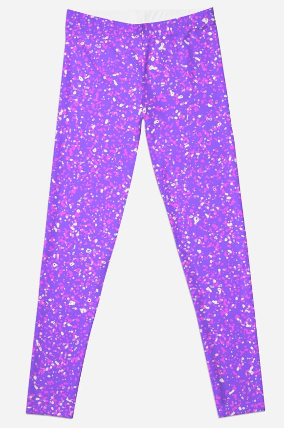 NIGHT-LIGHT PURPLE - Nearly Solid Purple - All Over Pattern by Gretchen Tiger