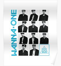 Wanna One - Energetic  Poster
