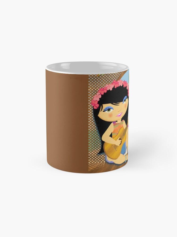 Alternate view of TropoGirl - Deck on Waikiki Mug