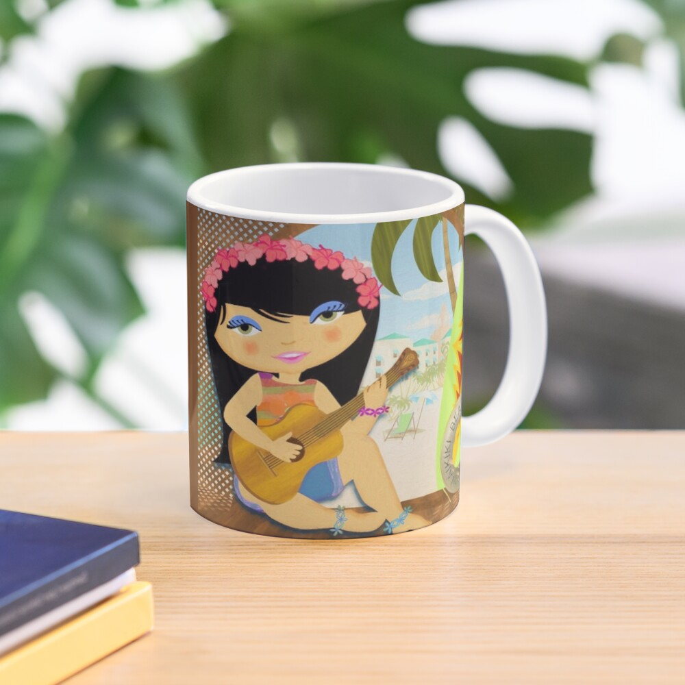 TropoGirl - Deck on Waikiki Mug