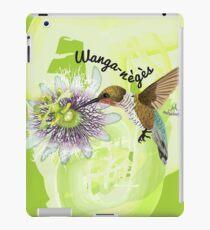 Wanga-Nègès butine une orchidée iPad Case/Skin