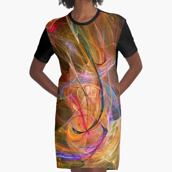 Electric Circus-Art Prints-Mugs,Cases,Duvets,T Shirts,Stickers,etc Graphic T-Shirt Dress