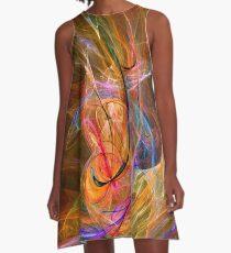 Electric Circus-Art Prints-Mugs,Cases,Duvets,T Shirts,Stickers,etc A-Line Dress