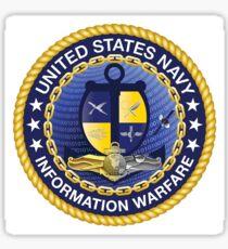 US Navy Information Warefare Sticker