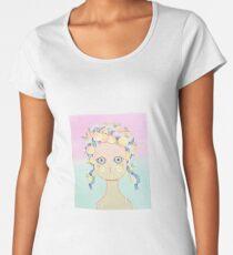 Peach cat Women's Premium T-Shirt