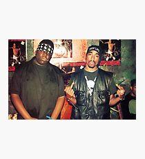 biggie smalls tupac  Photographic Print