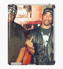 biggie smalls tupac  iPad Case/Skin