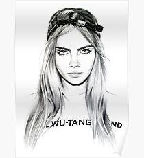 cara delevigne Poster