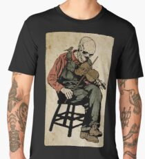 The Death Fiddler And His Sparrow Companion Men's Premium T-Shirt