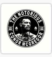 connor mcgregor Sticker