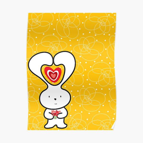 Valentine Bunny Poster