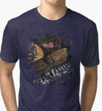 Broken Piano Tri-blend T-Shirt