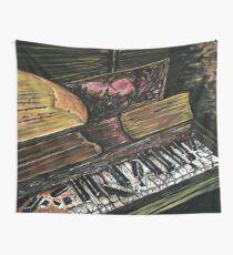 Broken Piano Wall Tapestry
