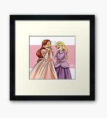 Brietta and Annika Framed Print