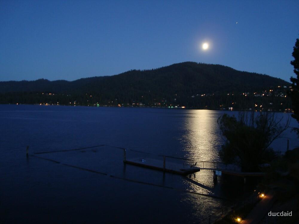 Moon Over Hayden by dwcdaid