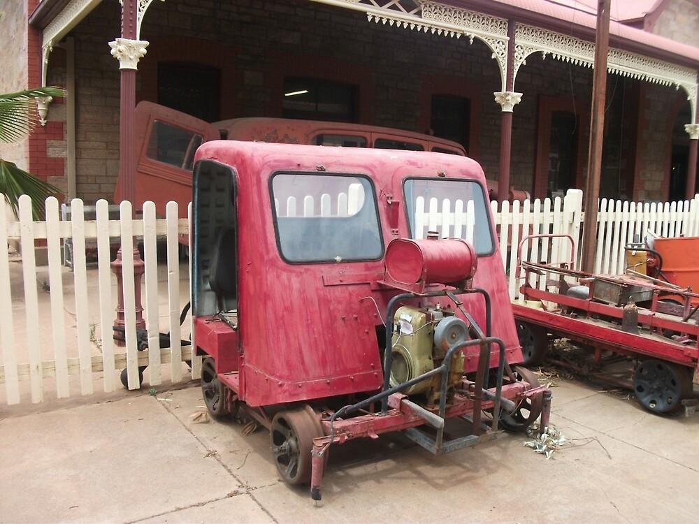 Broken Hill Sulphide St StnTrain Museum, by Heather Dart