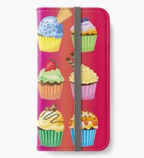Cupcakes Galore Delicious Yummy Sugary Sweet Baked Treats iPhone Wallet/Case/Skin
