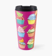 Cupcakes Galore Delicious Yummy Sugary Sweet Baked Treats Travel Mug