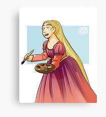 Rapunzel Metal Print