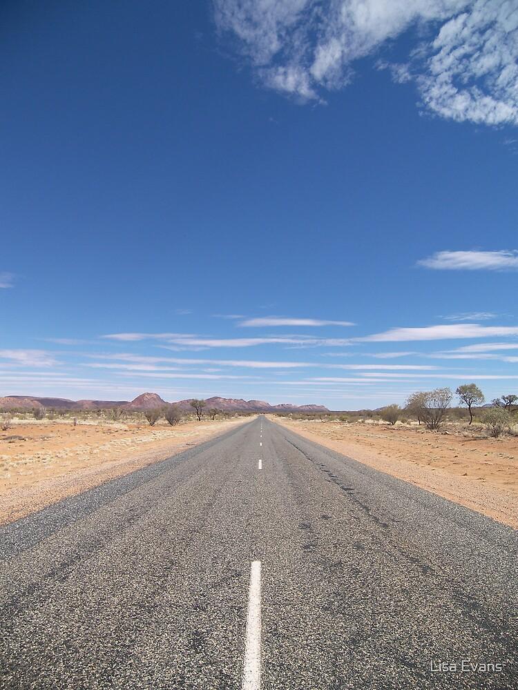 Larapinta, West MacDonnell Ranges, Northern Territory  by Lisa Evans