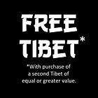 Free Tibet by PKHalford