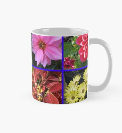 Summer Flowers and Plants Collage Tasse